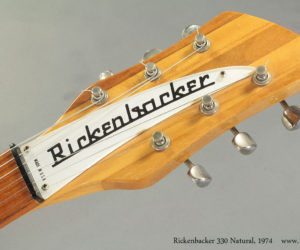1974 Rickenbacker 330 Natural (consignment) SOLD