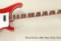 SOLD!!! 2012 Rickenbacker 4003 Bass, Ruby Red