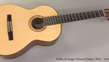Rubin-de-Jonge-Classical-Guitar-2013-Full-Front-View