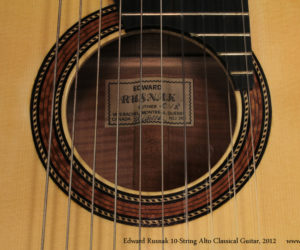 Rusnak Alto 10 String Classical Guitar (consignment) SOLD