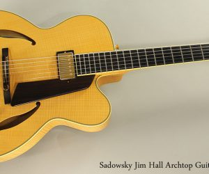 2005 Sadowsky Jim Hall Archtop (SOLD)