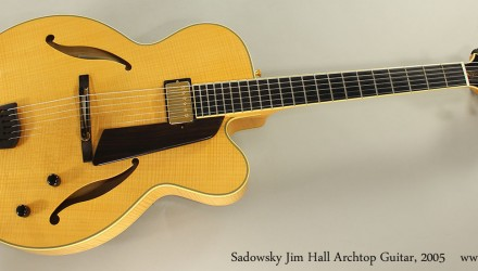 Sadowsky-Jim-Hall-Archtop-Guitar-2005-Full-Front-View