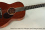 NO LONGER AVAILABLE! 2011 Santa Cruz 1929 OO Mahogany  Steel String Acoustic