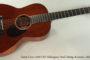 NO LONGER AVAILABLE! 2011 Santa Cruz 1929 OO Mahogany  Steel String Acoustic