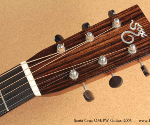 2005 Santa Cruz OM-PW acoustic SOLD