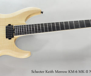 Schecter Keith Merrow KM-6 MK-II Natural Pearl