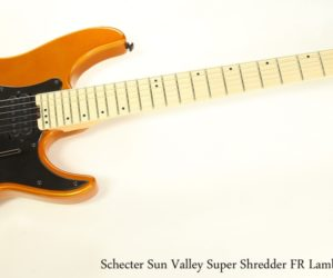 Schecter Sun Valley Super Shredder FR Lambo Orange, 2018