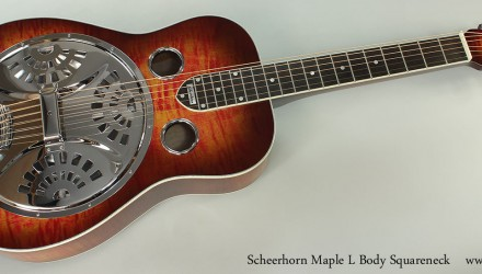Scheerhorn-Maple-L-Body-Squareneck-Full-Front-View