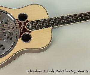 Just In!  New Scheerhorn Reso Phonic Guitars