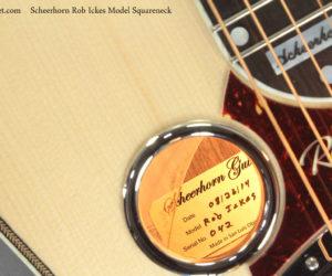 Scheerhorn Rob Ickes Model Squareneck Resophonic Guitar