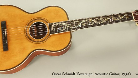 Oscar-Schmidt-Sovereign-Acoustic-Guitar-1930s-Full-Front-View