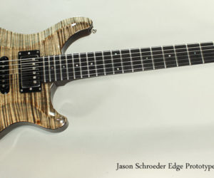 NO LONGER AVAILABLE!!! 2009 Jason Schroeder Edge Prototype for NAMM
