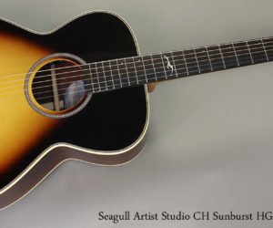 Seagull Artist Studio Concert CH Sunburst