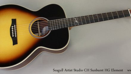 Seagull-Artist-Studio-CH-Sunburst-HG-Element-Full-Front-View