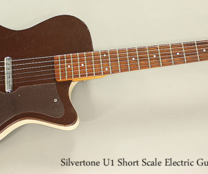 ‼️ NO LONGER AVAILABLE‼️  1960 Silvertone U1 Short Scale Electric Guitar