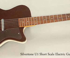 1960 Silvertone U1 Short Scale Electric Guitar