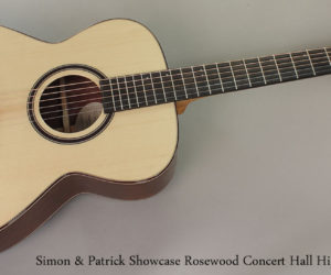 No Longer Available:  Simon & Patrick Showcase Rosewood Concert Hall High Gloss