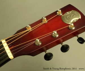 Smith and Young Model 1 Resophonic 2011 (consignment) SOLD