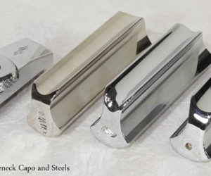 Squareneck Capo and Steels
