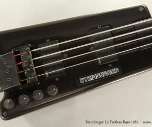Sold!  1982 Steinberger L2 Fretless Bass