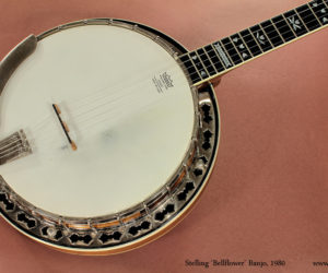 Stelling Bellflower Banjo, 1980 (Consignment) SOLD
