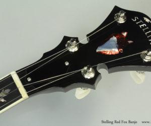 2015 Stelling Red Fox Banjo