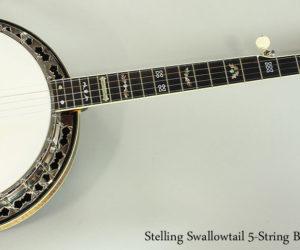 2004 Stelling Swallowtail 5-String Banjo