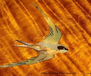 Stelling Swallowtail Deluxe Banjo, 2005 SOLD