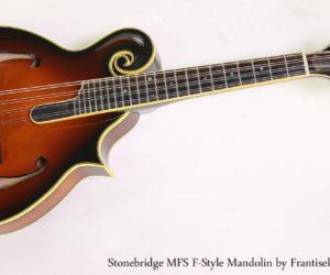 Stonebridge MFS F-Style Mandolin by Frantisek Furch, 2009