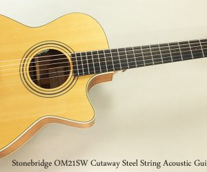 2015 Stonebridge OM21SW Cutaway (SOLD)