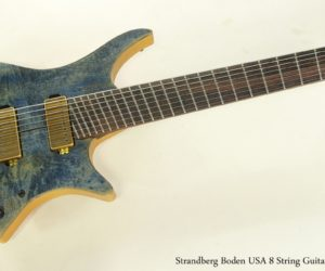 SOLD!!! Strandberg Boden USA 8 String Guitar, 2012