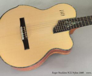 2008 Roger Stuckless SCE Nylon Crossover (consignment)  SOLD
