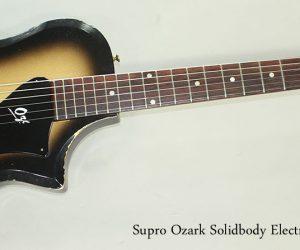 SOLD!!! 1959 Supro Ozark Solidbody Electric Guitar