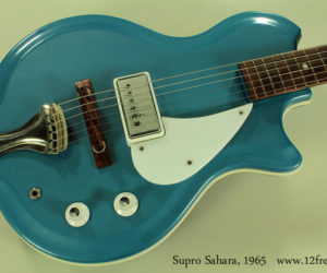 Supro Sahara in Blue, 1965 (consignment) SOLD