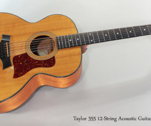 SOLD!!! Taylor 355 12-String Acoustic Guitar - 2004