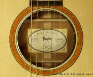 Taylor 514e FLTD Fall Limited SOLD