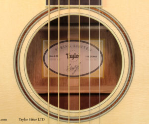 Taylor 614ce and 616ce Spring Limited SOLD
