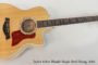 2014 Taylor 616ce Blonde Maple  SOLD
