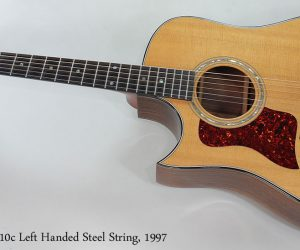 NO LONGER AVAILABLE!!! 1997 Taylor 710c Left Handed
