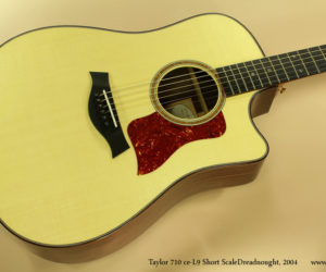 2004 Taylor 710 CE-L9 Short Scale  Dreadnought No Longer Available