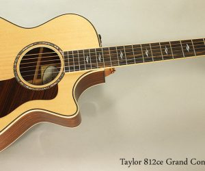 SOLD!! Taylor 812ce Grand Concert Steel String Acoustic Guitar