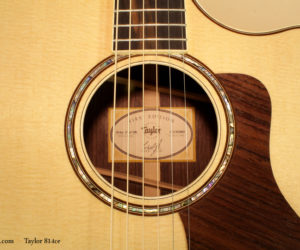 Taylor Guitars 814ce