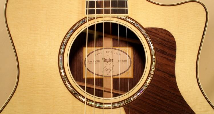 Taylor-814ce-label
