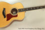 2013 Taylor 816 Grand Symphony Steel String  SOLD