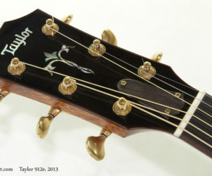 2013 Taylor 912e Steel String (consignment) SOLD