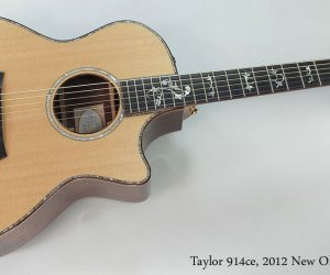 2012 New Old Stock Taylor 914ce   SOLD