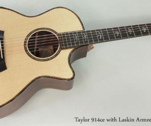 2015 Taylor 914ce with Laskin Armrest
