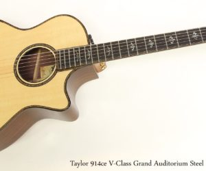 Taylor 914ce V-Class Grand Auditorium Steel String Guitar