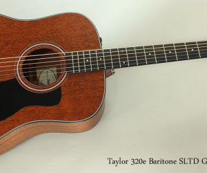 SOLD!!! 2014 Taylor 320e Baritone SLTD Guitar