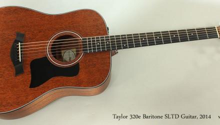 Taylor-320e-Baritone-SLTD-Guitar-2014-Full-Front-View